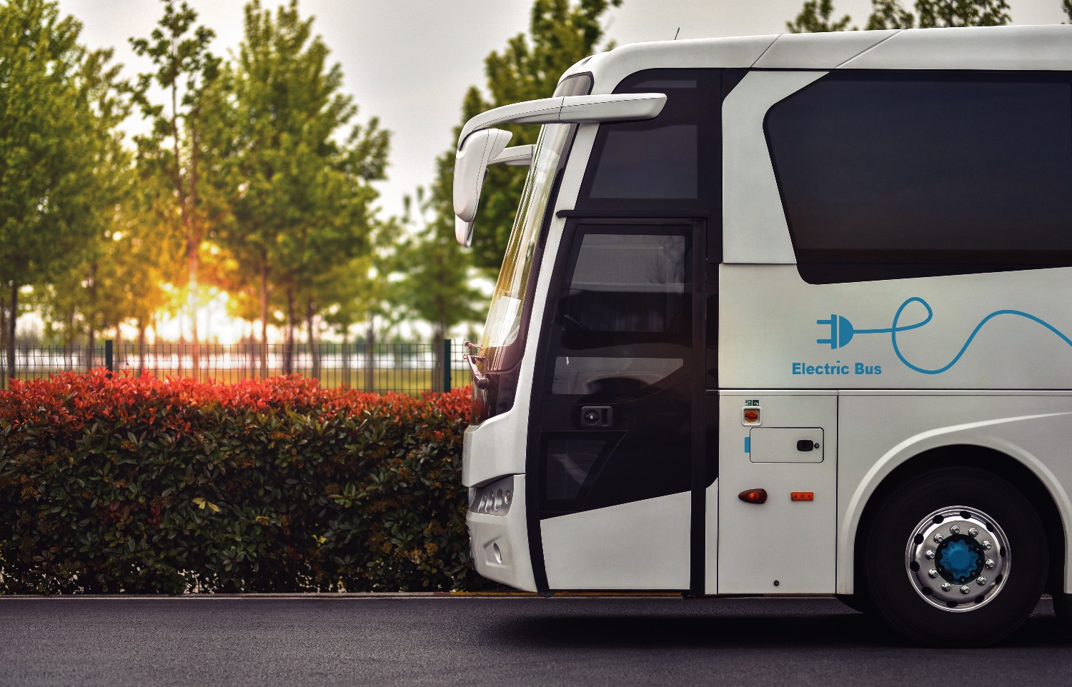 Electric Bus funded by the ZETF